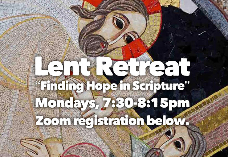 A Lenten Retreat Each Monday with Dominican Sisters of St Joseph